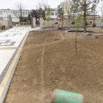 Wałowanie terenu przed siewem trawy
