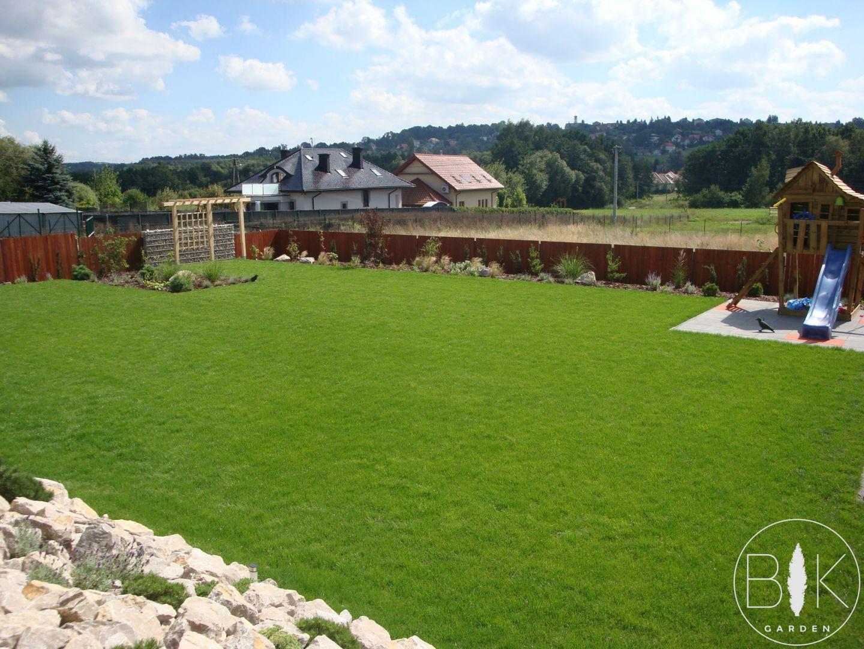 trawnik z rolki po roku