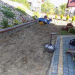 wyprowadzenie terenu pod trawnik z rolki