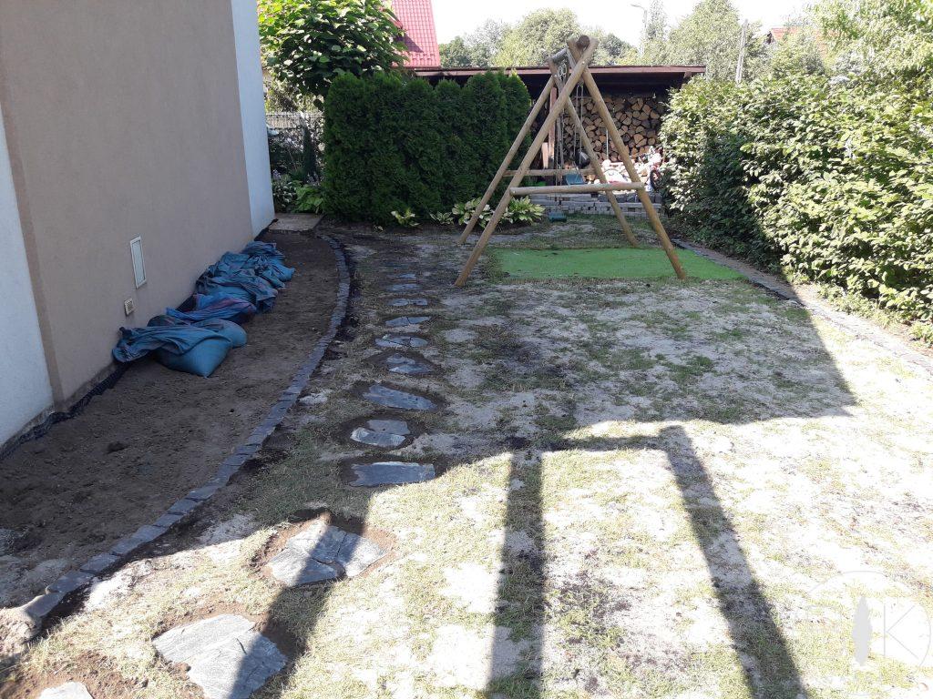 piaskowanie murawy